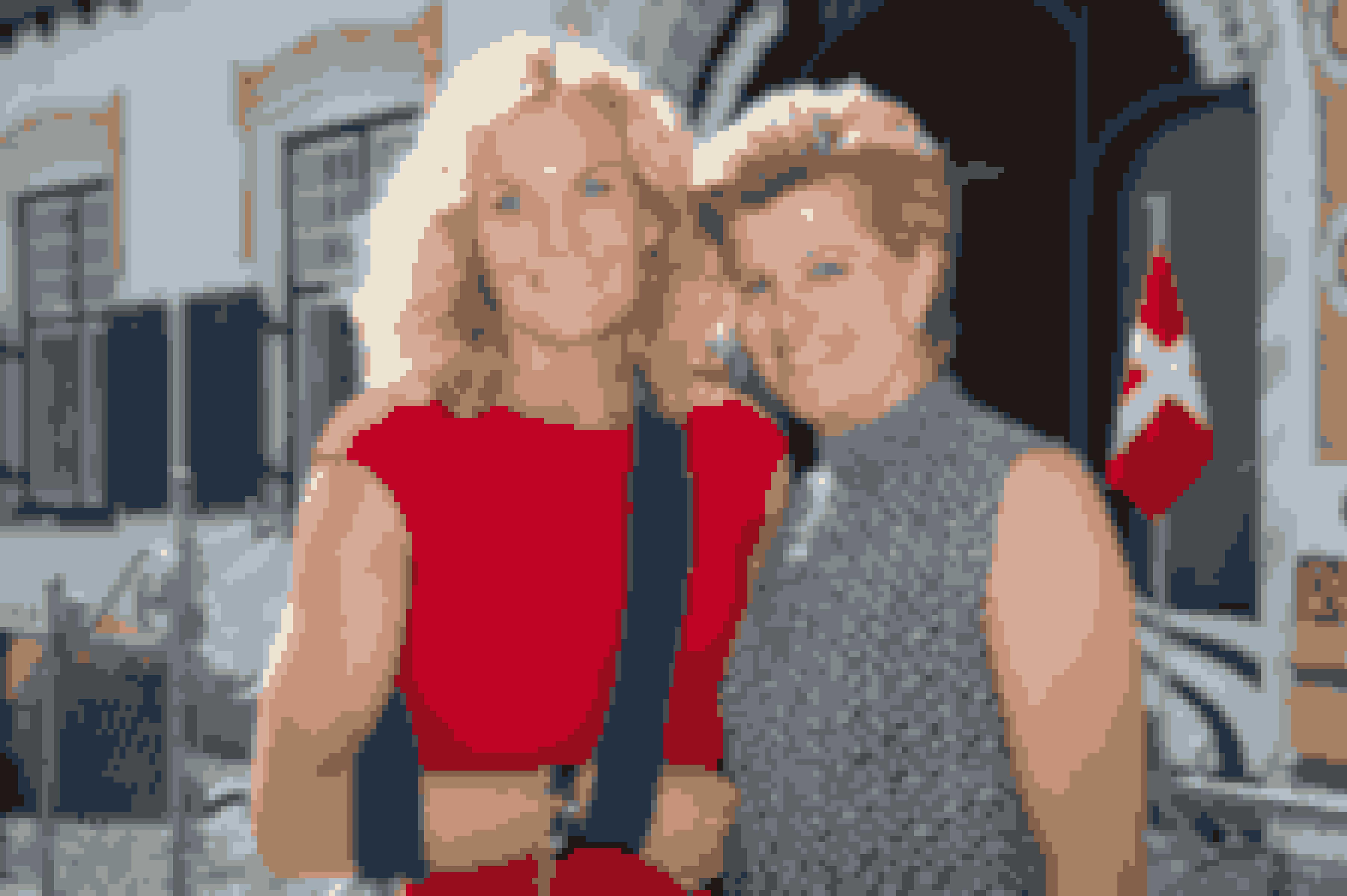 Charlotte og Pernille Bøving