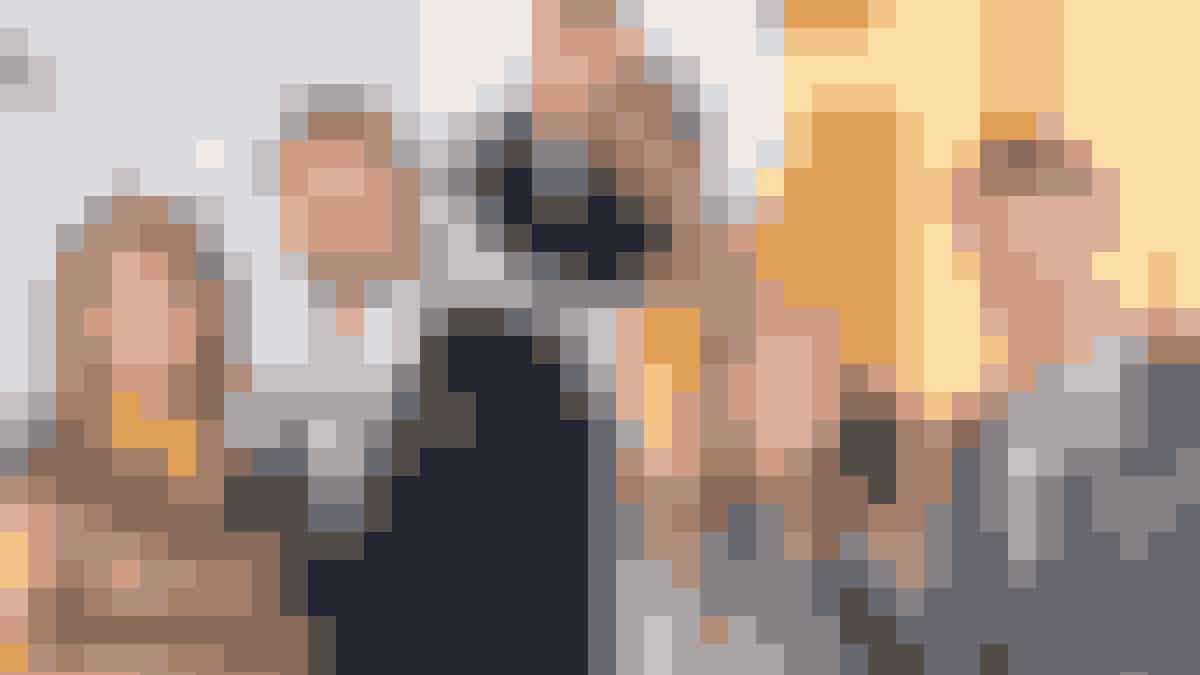 Fotomontage: Stéphanie Surrugue, Kåre Quist, prins Harry, Meghan Markle, Natasja Crone og Morten Ankerdal.