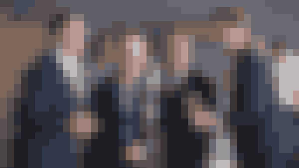 Four Jacks alias John Mogensen, Otto Brandenburg, Bent Werther og Poul Rudi i skikkelse af Nicolai Jørgensen, Christian Collenburg, Emil Birk Hartmann og Kristian Rossen.