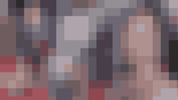 Fotomontage. Michael Douglas, Kirk Douglas, Catherine Zeta-Jones og Cameron Douglas.