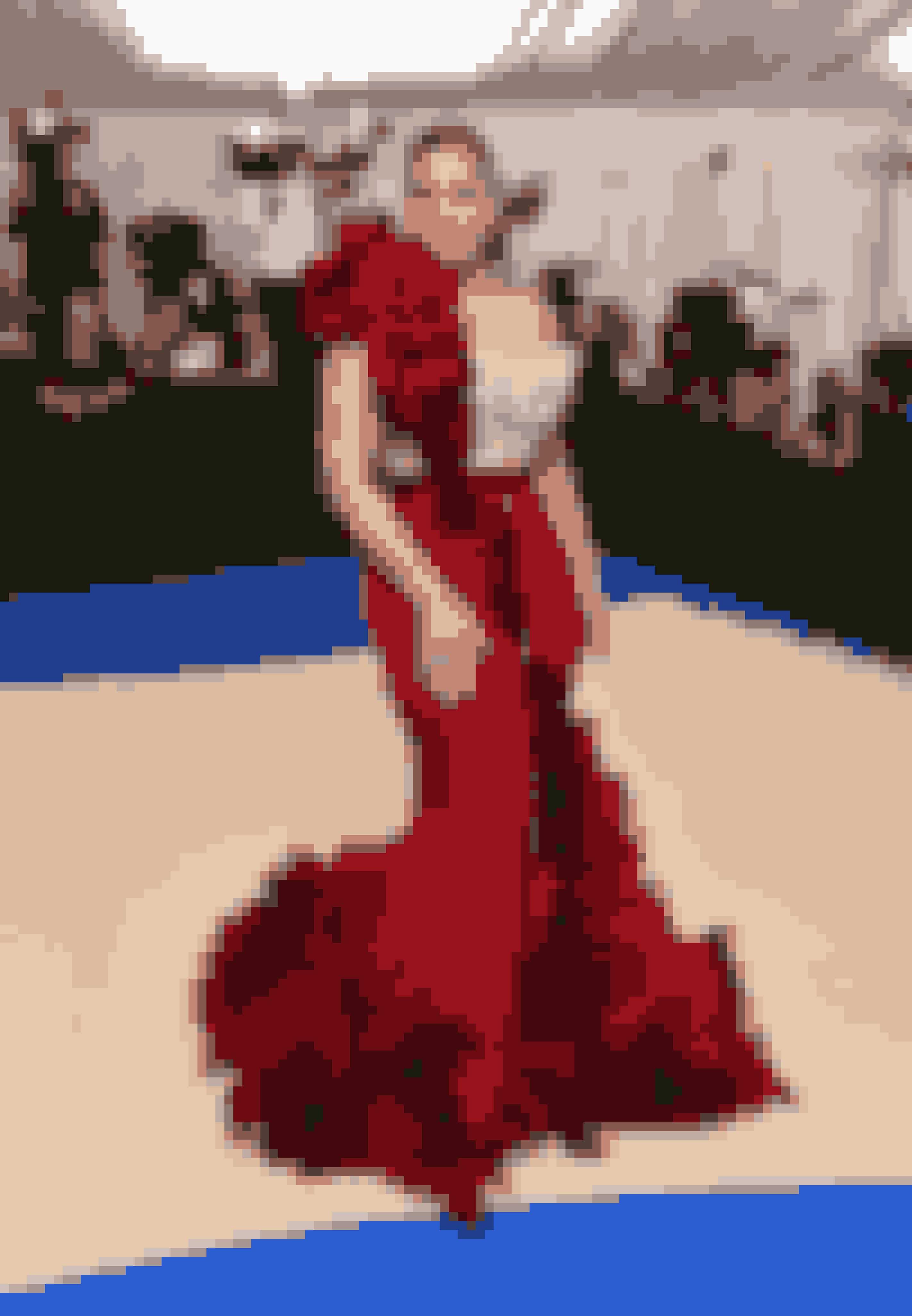 Ashley Graham i H&M kjole