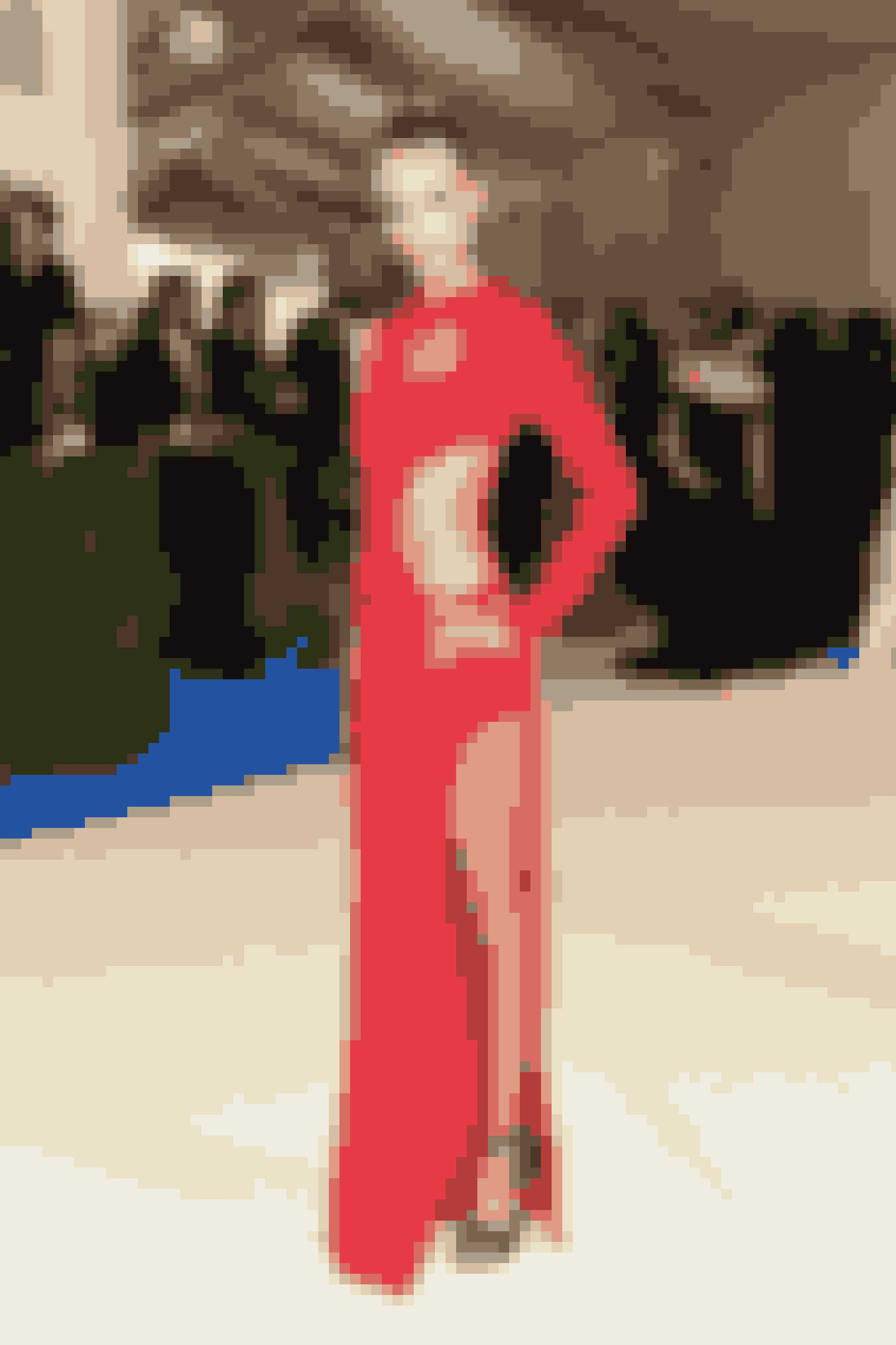 Natasha Poly i Michael Kors kjole