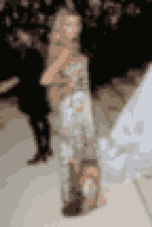 Stella Maxwell i Moschino