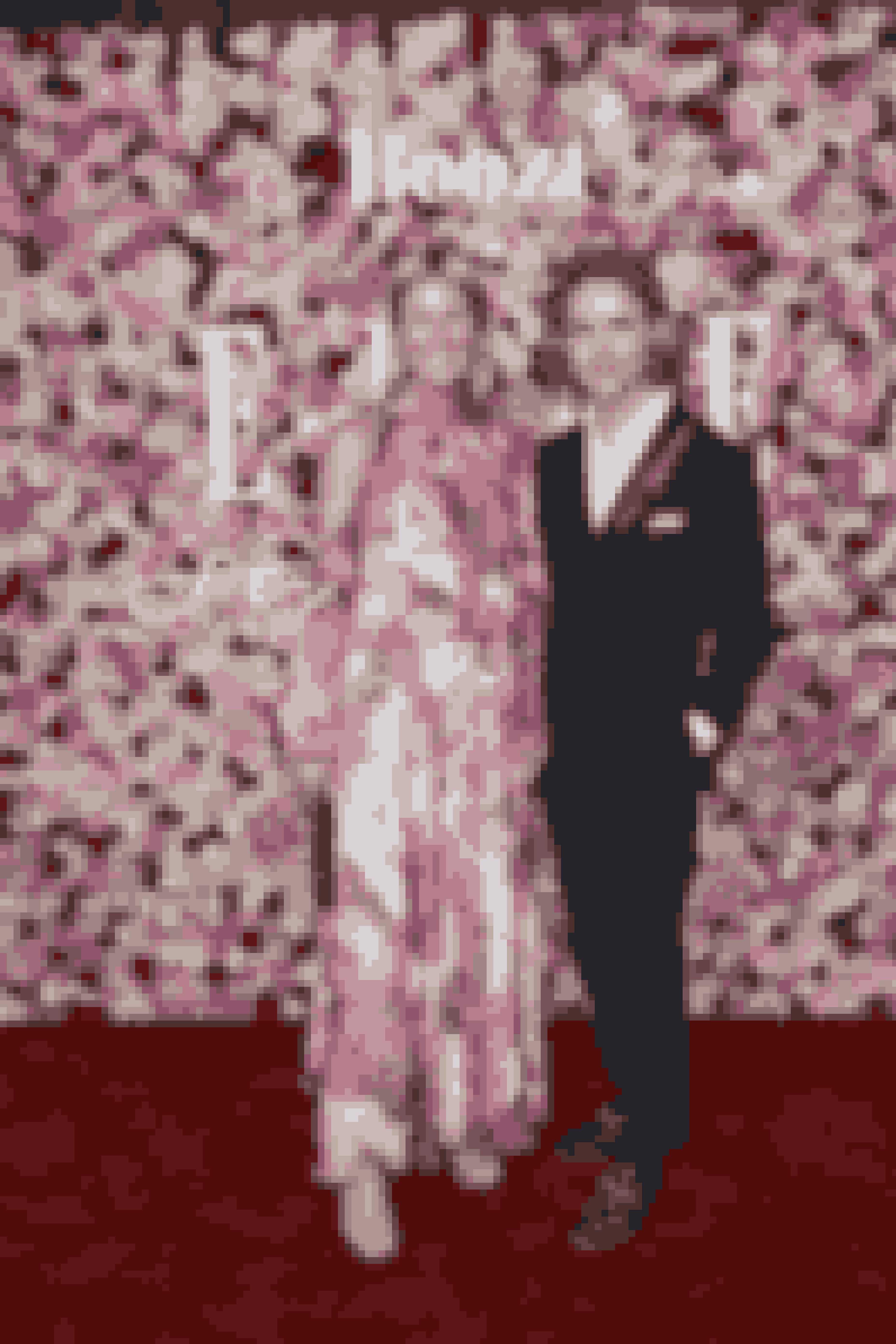 Lotte Mørch i kjole fra Msgm med Mads Vanggaard.
