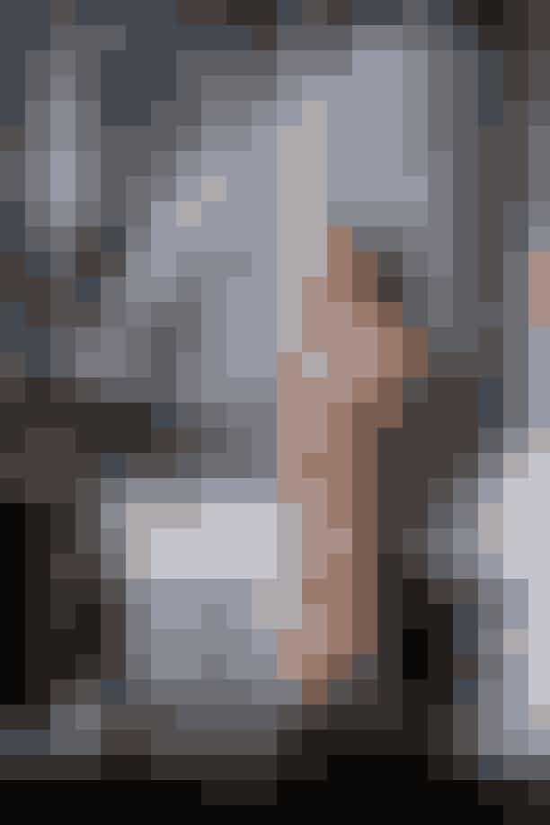Kate Moss ved tapetet 'Dusk'