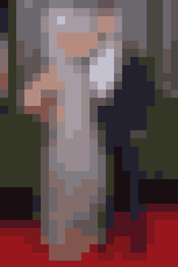 Emily Blunt og John Krasinski. Blunt iAlexander McQueen.
