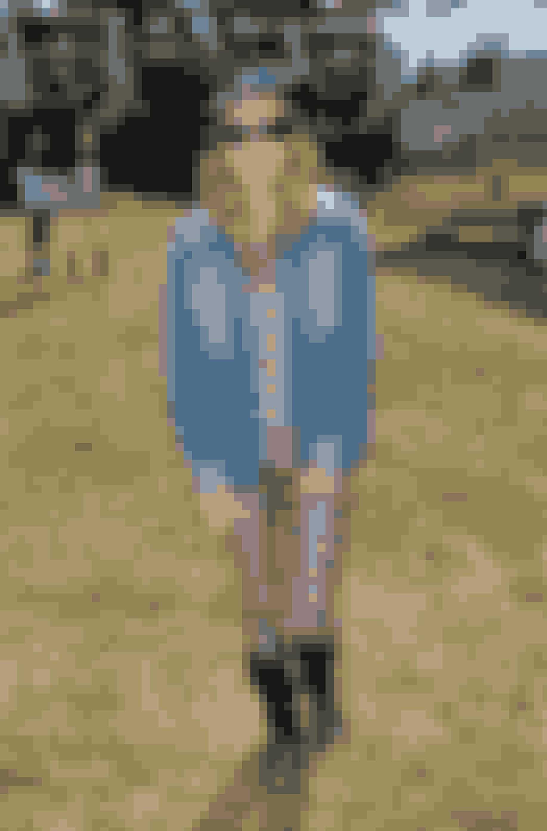 Sienna Miller på Glastonbury Festival.