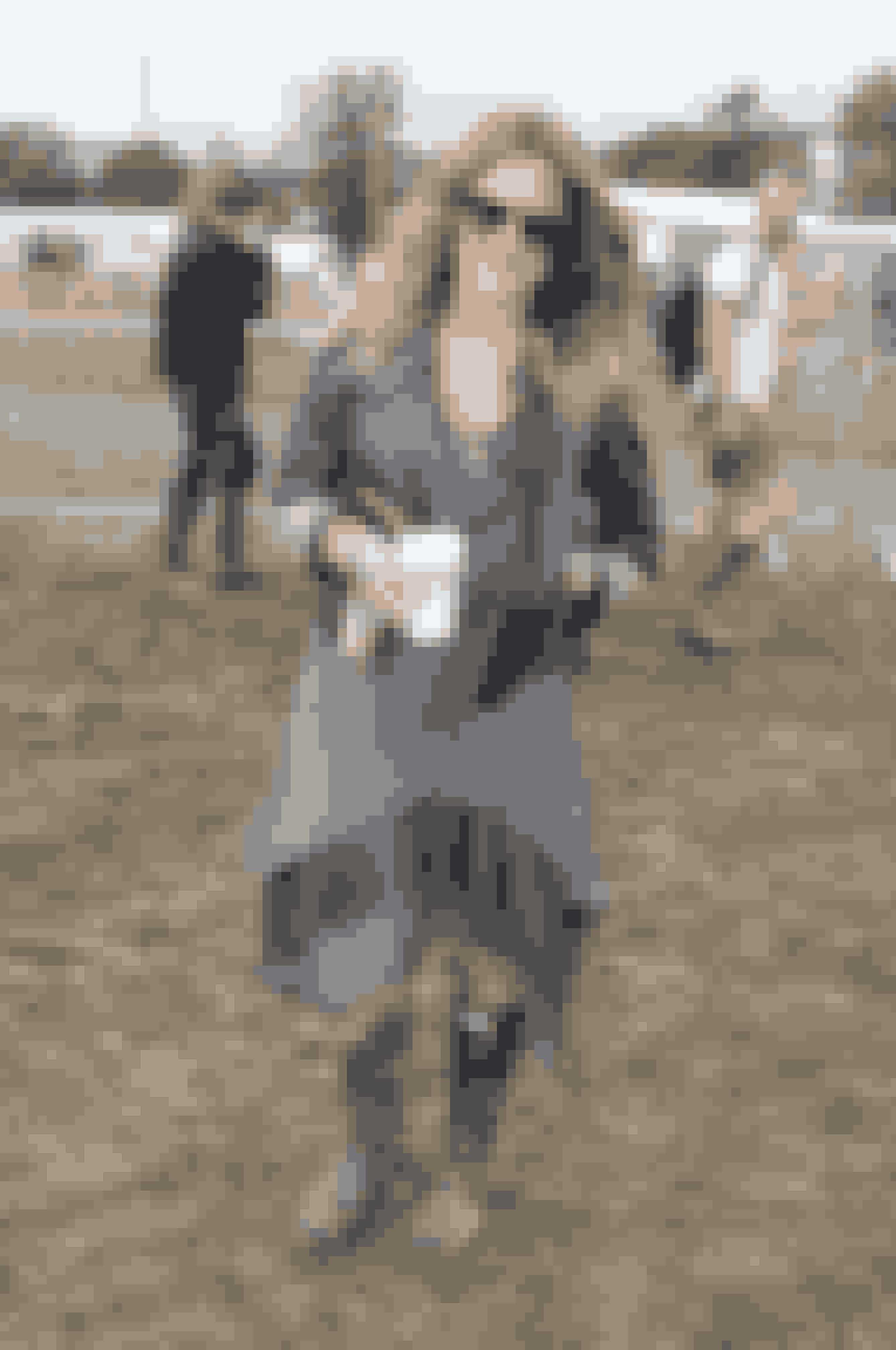 Caroline Flack på Glastonbury Festival.