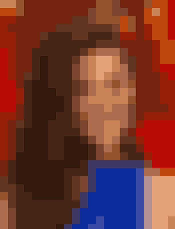 Jennifer GarnerMed make-up i blå nuancer og store krøller viste Jennifer Garner sig fra sin smukkeste side på den røde løber.