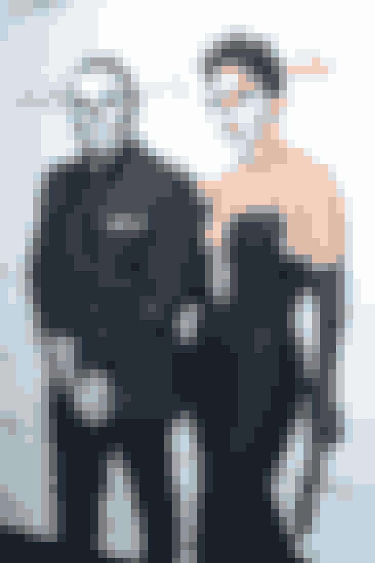 Jennifer Lopez og Casper Smart som skeletter, 2015