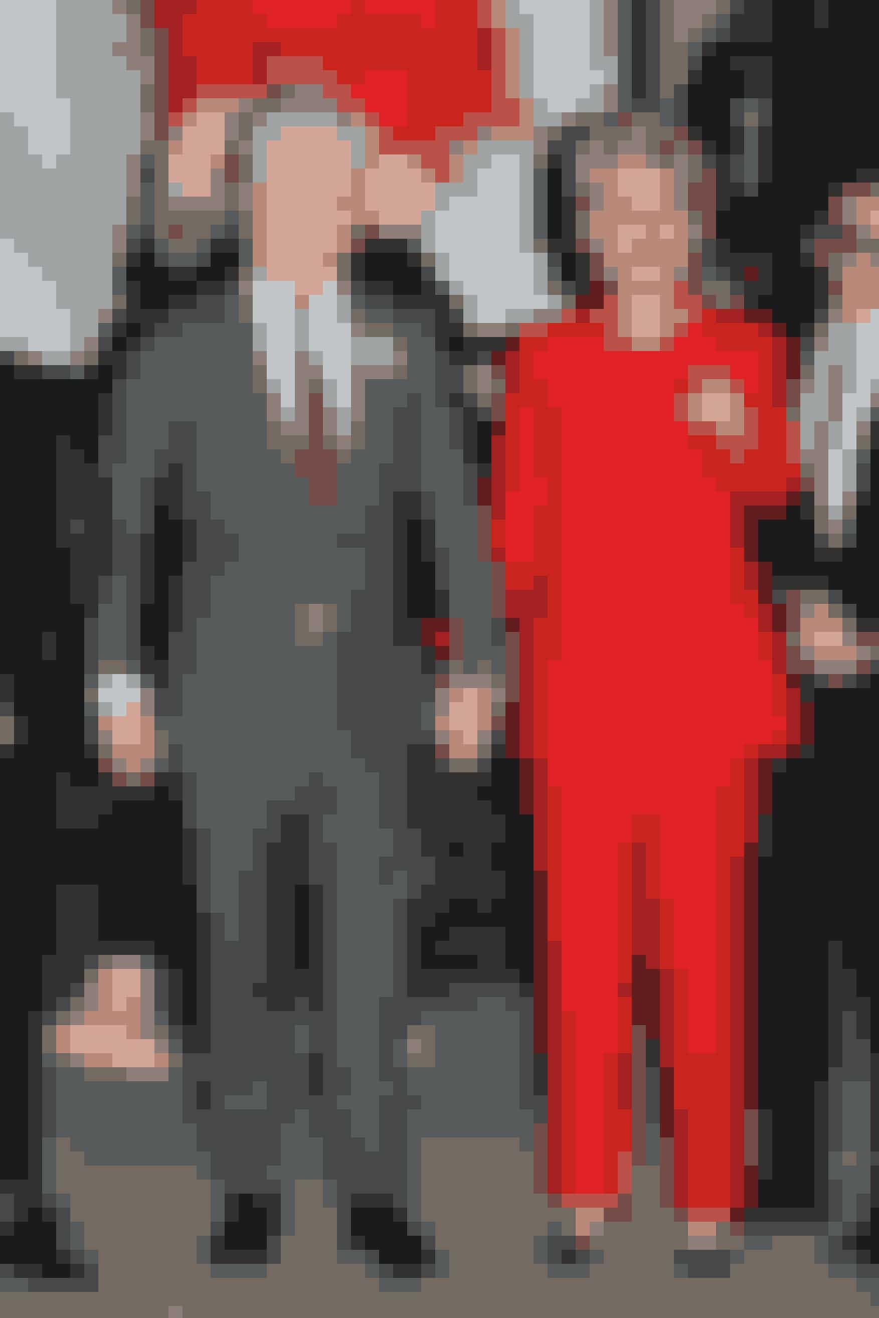 Katy Perry og Orlando Bloom som Hilary og Bill Clinton, 2016