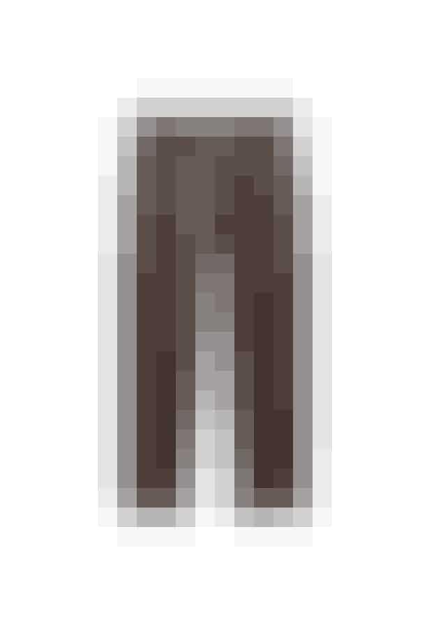 De chokoladebrune læderbukser her vil stå smukt til mine lyse overdele og er blødere i udtrykket end mine sorte ditto.Læderbukser, Cos, 2.700 kr.