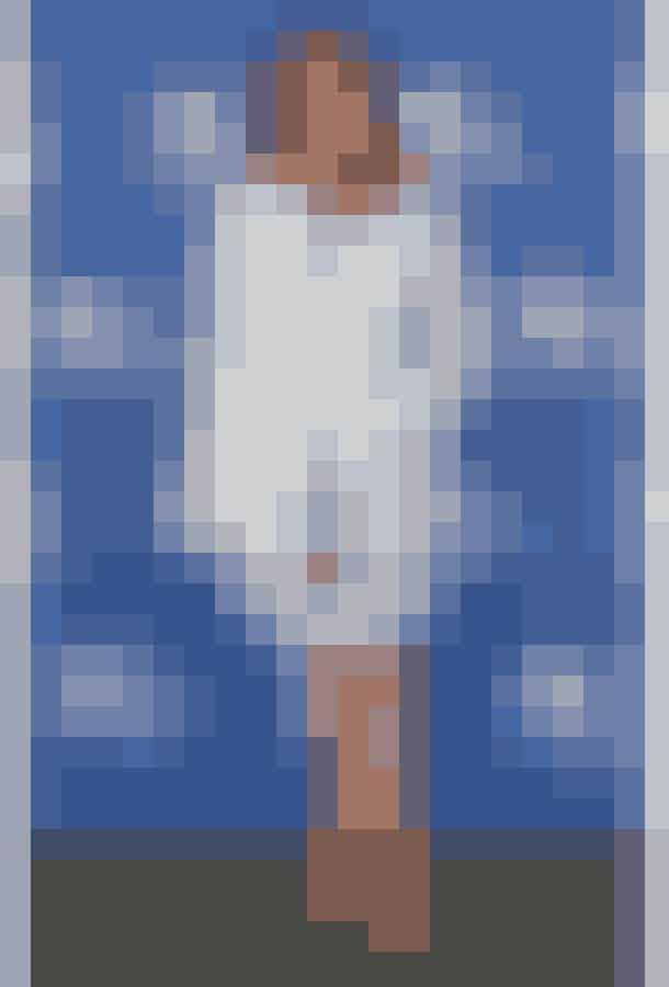 Penélope Cruz ses endnu engang i Chanel, her som sæt bestående af kjole og jakke.