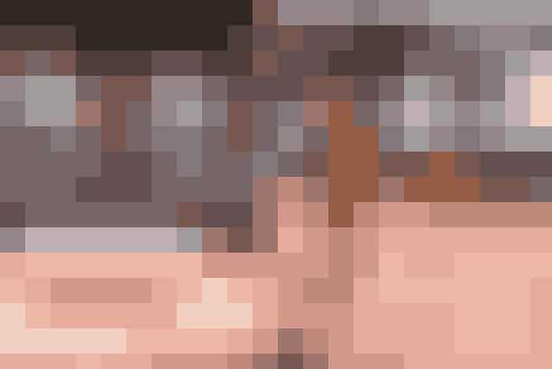 Mulberry AW18 showet med glasboksen i midten, der gemte på en syngende overraskelse.