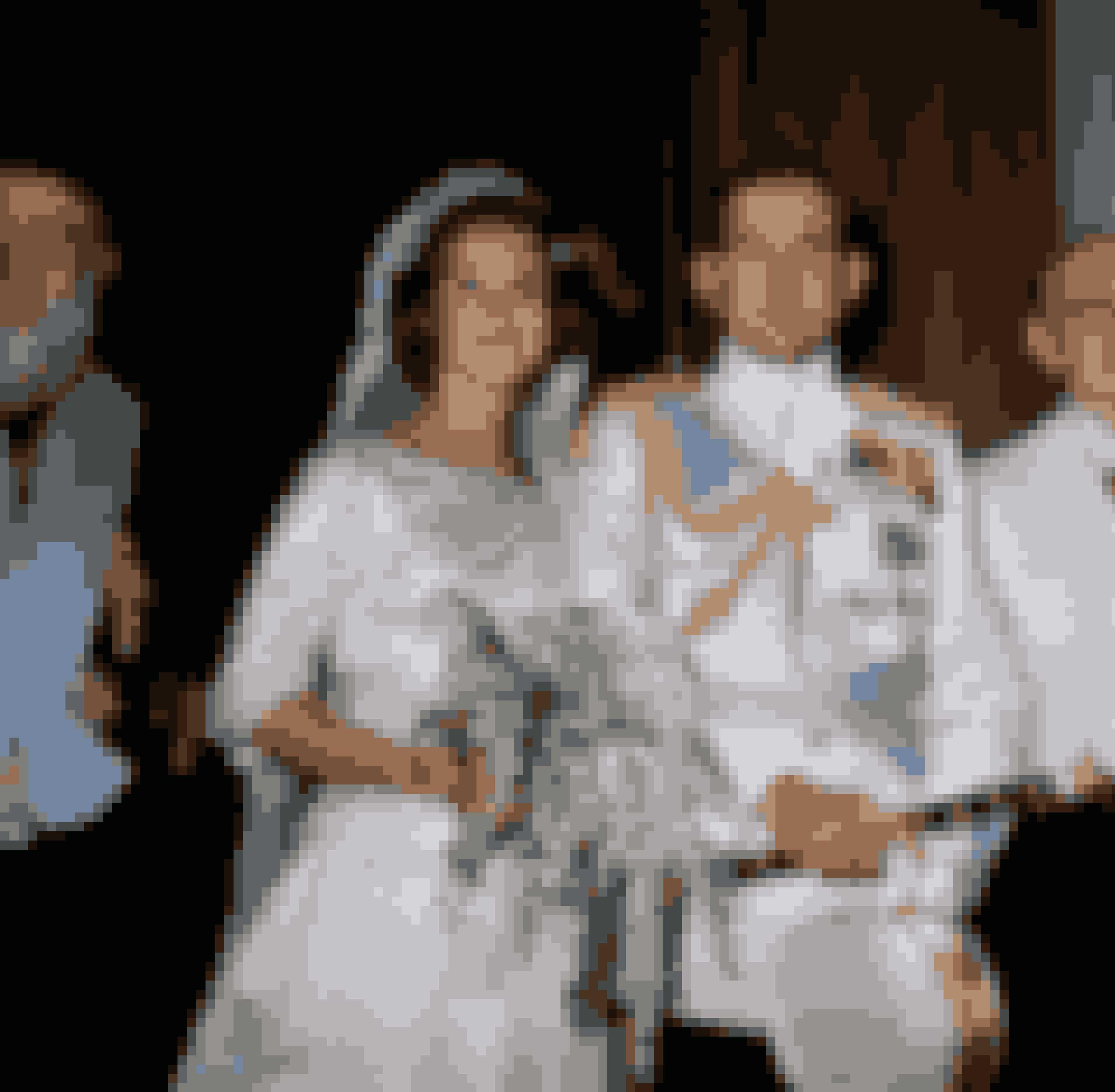 Prinsesse Anne-Marie iført kjole af Holger Blom og Jørgen Bender ved sit bryllup med tidligere konge Konstantin 2. af Grækenland, 1964.