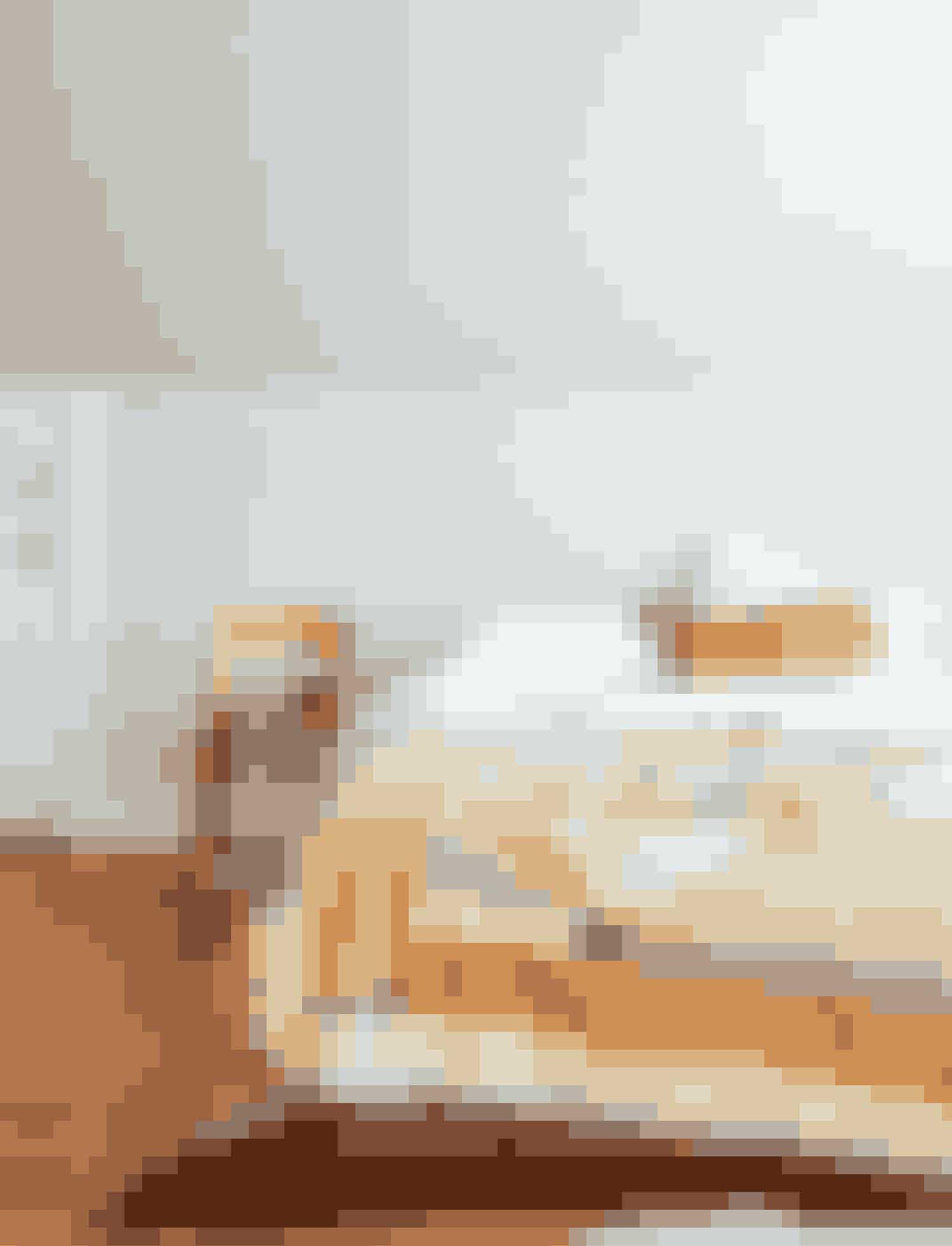 Patchwork har for alvor fået et comeback, og i særdeleshed når det ofte oversete håndværk udføres på lige så cool vis som hos amerikanske Thompson Street Studio.Quiltet tæppe, Thompson Street Studio, fra 3.000 kr.Køb online her.