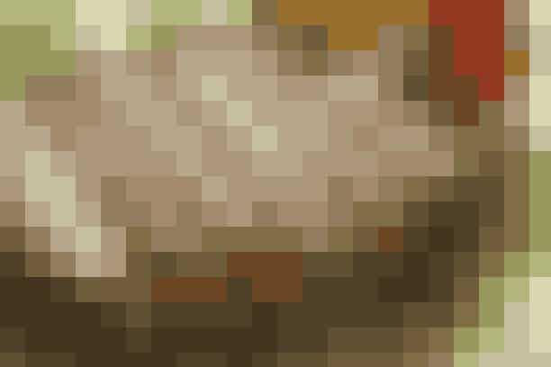 Spændende frokost med god smag    (4 pers.)   Dej 100 g hvedemel  50 g grahamsmel  3 dl mælk  ½ tsk. salt  ½ tsk. bagepulver  2 æg  25 g smeltet smør   Fyld 1 stort løg  2 peberfrugter  10 g smør  3 æg  3 spsk. vand  1 tsk. Colmans sennepspulver  Salt og peber   Til gratinering 50 g revet granaost el. gratineringsost   Pisk pandekagedejen sammen og lad den hvile 10 min. Bag 8-10 pandekager på en slip-let pande, brug lidt fedtstof til den første pandekage.   Fyld: Skær løget i skiver og peberfrugterne i strimler. Svits grønsagerne 6-7 min. i smørret ved jævn varme. Pisk æg, vand og sennepspulver let sammen i en skål og hæld det over grønsagerne. Skub æggemassen sammen med en paletkniv, efterhånden som den stivner i bunden. Krydr æggemassen med salt og peber. Rul pandekagerne om æggemassen og læg dem ved siden af hinanden i et ovnfast fad. Drys ost over. Gratiner pandekagerne 10-15 min. ved 225° og spis dem varme.   Madopskrift: Anne Skovgaard-Petersen & Foto: Jette M. Vesterager