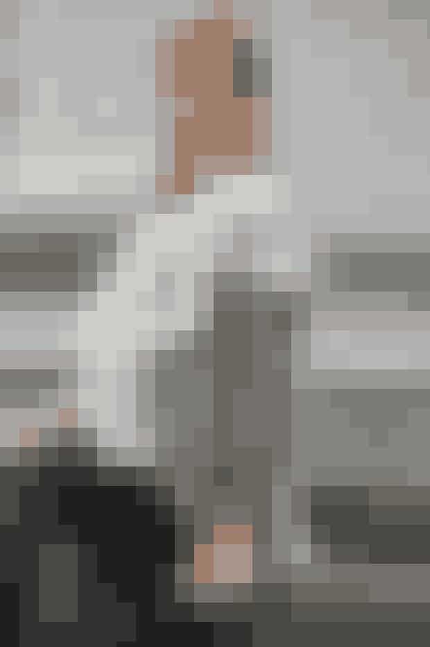 Der går 61 hæklede cirkler til det luftige, hvide sjal. Find opskriften på sjalet af cirkler her