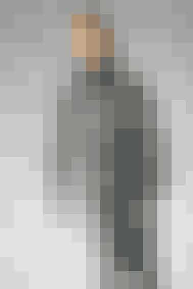 Garnet er spundet sammen af flere grå farver, så striberne kommer helt af sig selv Find opskriften her...