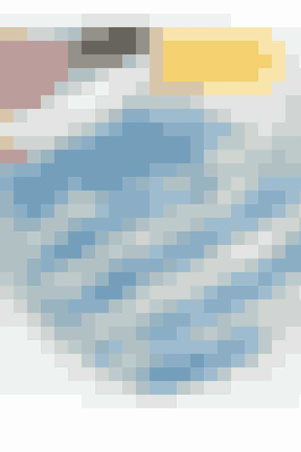 Nem strikkeopskrift: Så søde med fine striber og ribkant- se opskrift her