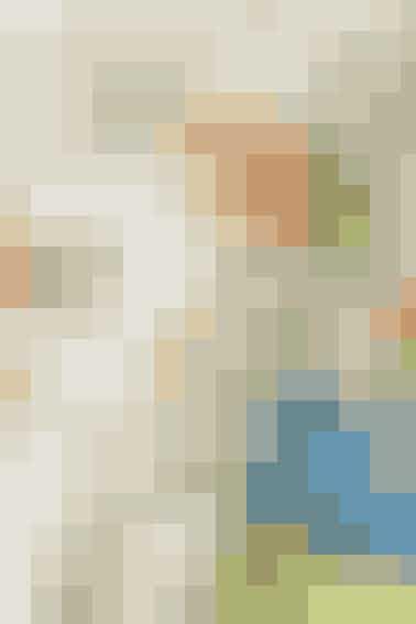 Nyt til baby: bomuldstrøje og hue med rullekanter i friske farver - se opskrift her