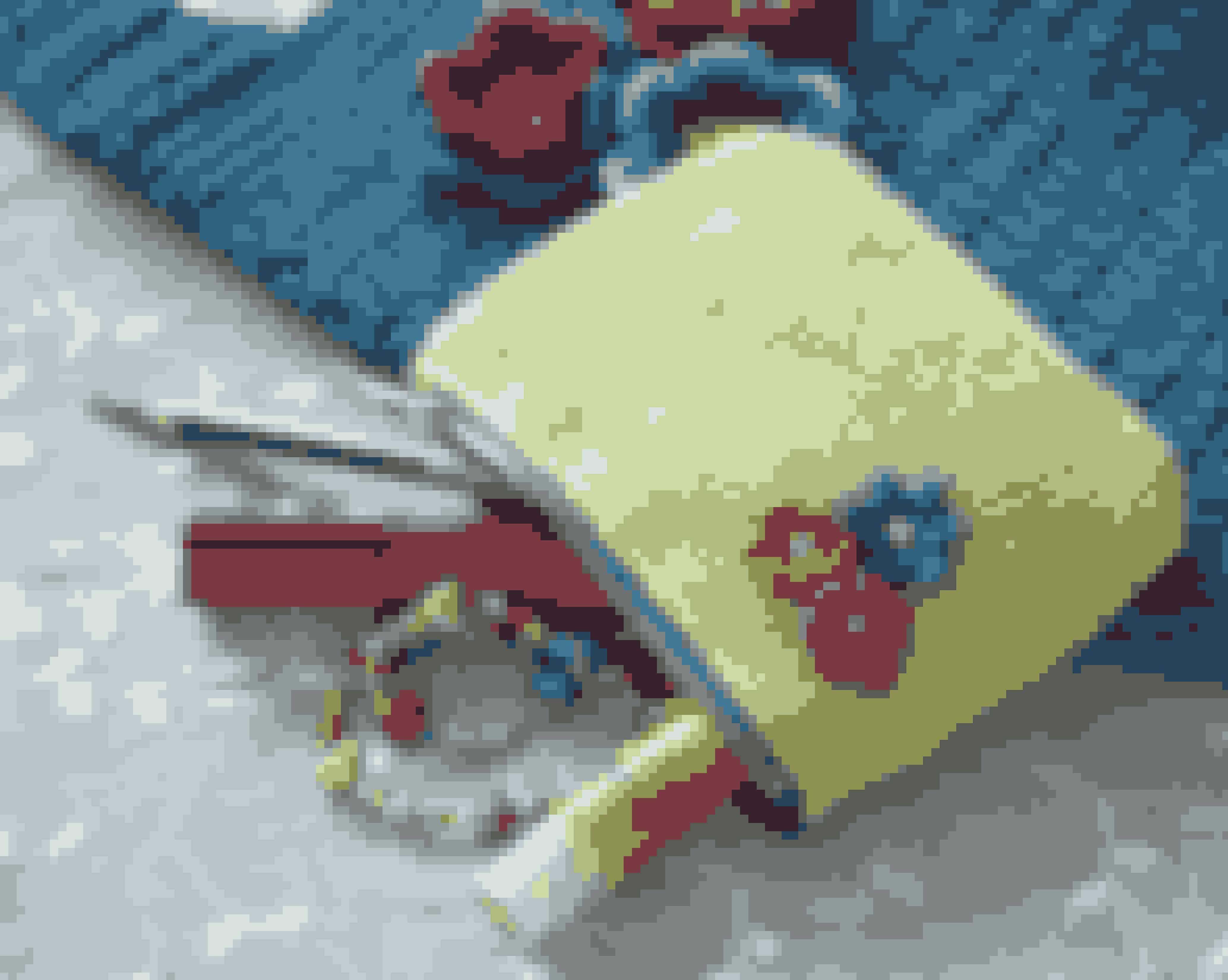Hæklen fin taske eller kosmetikpung til din mori hendes yndlingsfarve. Super gave til mors dag - se opskriften her