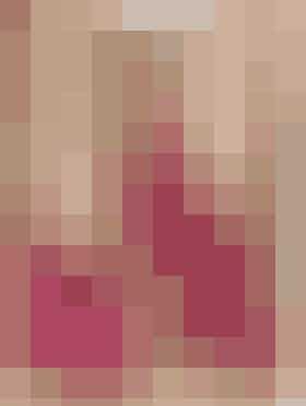 Strikkede tøfler i pink