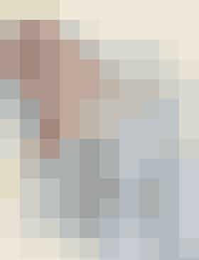 Strikkeopskrift på babytæppe med brombærmønster