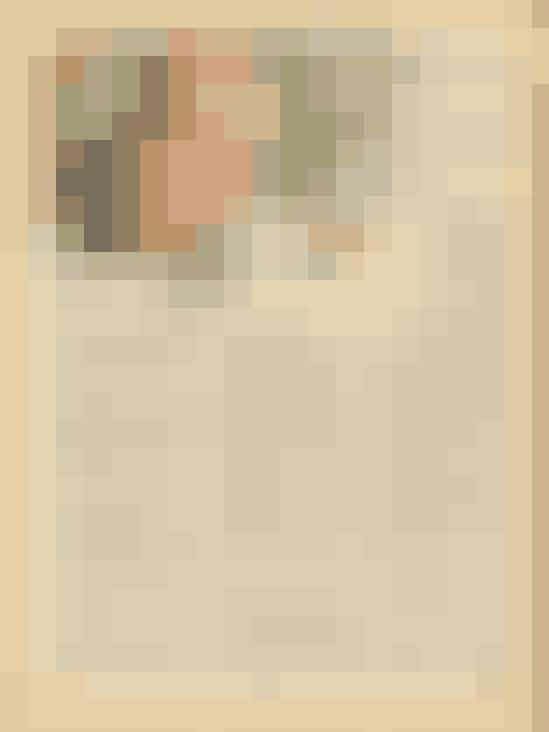 Til middag hos chefenDen smukke Inger og hendes mand er blevet inviteret til middag hjemme hos deres fælles chef, direktør Hasting. I den anledning har hun købt en meget dyr kjole, men hvordan skal hun betale den, hvis hendes mand ikke får det forventede gratiale? I novellens illustration gør Inger sig klar til den store aften.
