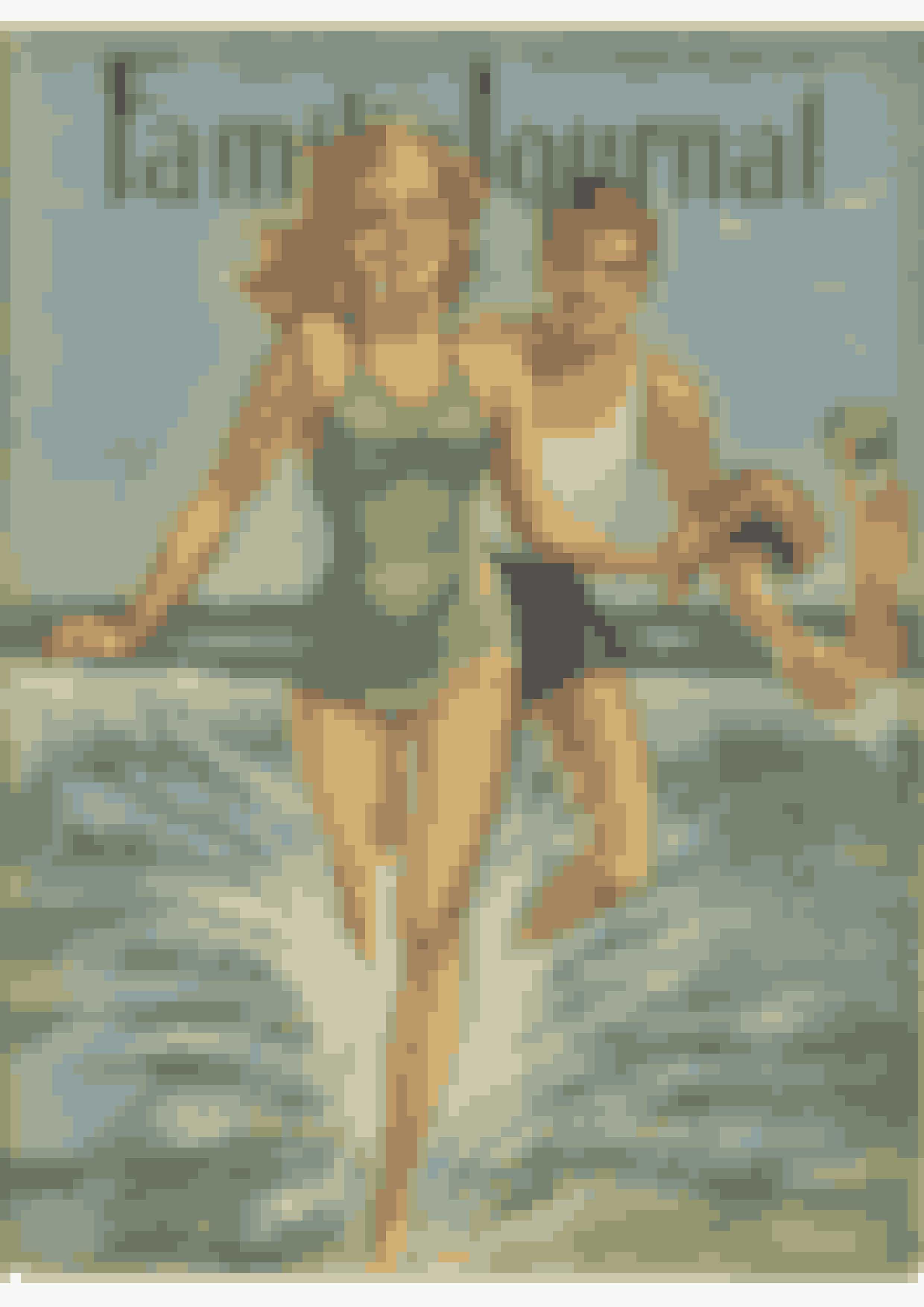 Højsommer i Danmark anno 1942. Man får helt lyst til at hoppe i bølgerne.