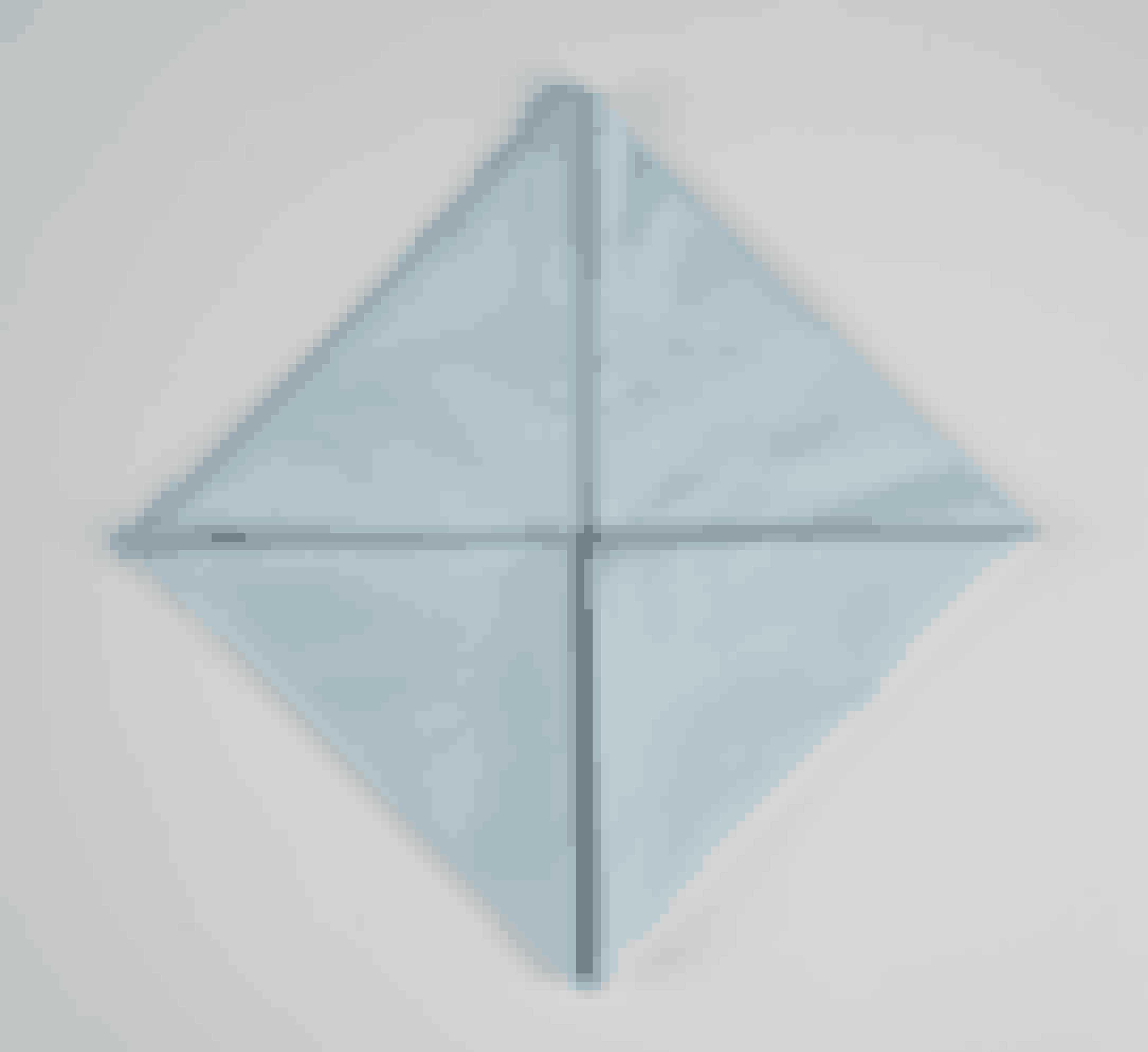 Fold nederste højre hjørne op på samme måde, så der dannes et kvadrat.