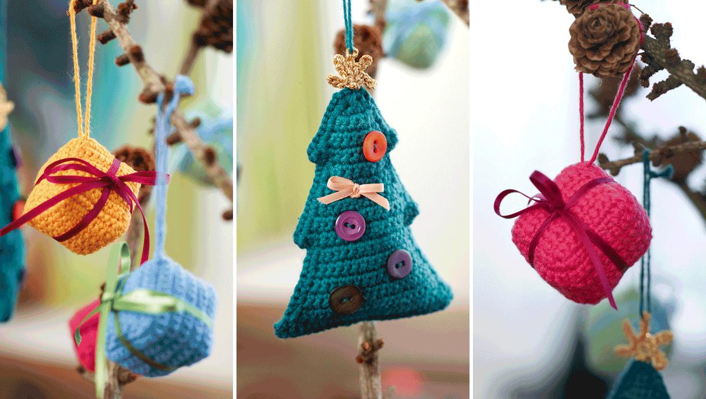 Fin hæklet julepynt 3 fine opskrifter | Femina