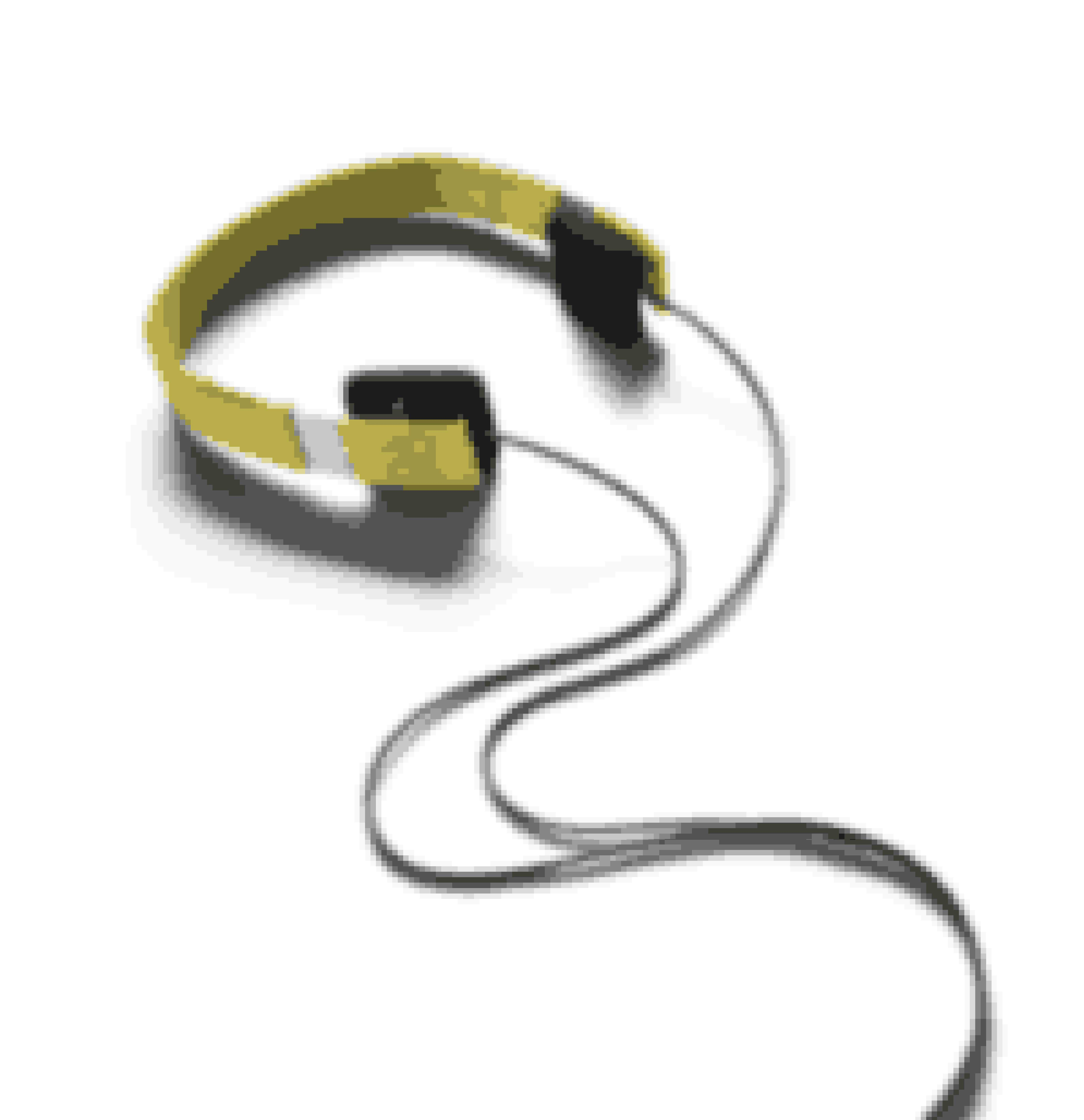 Op med stængerne og på med hørebøfferne. Gult headset, Form21, 999 kr. B&O.