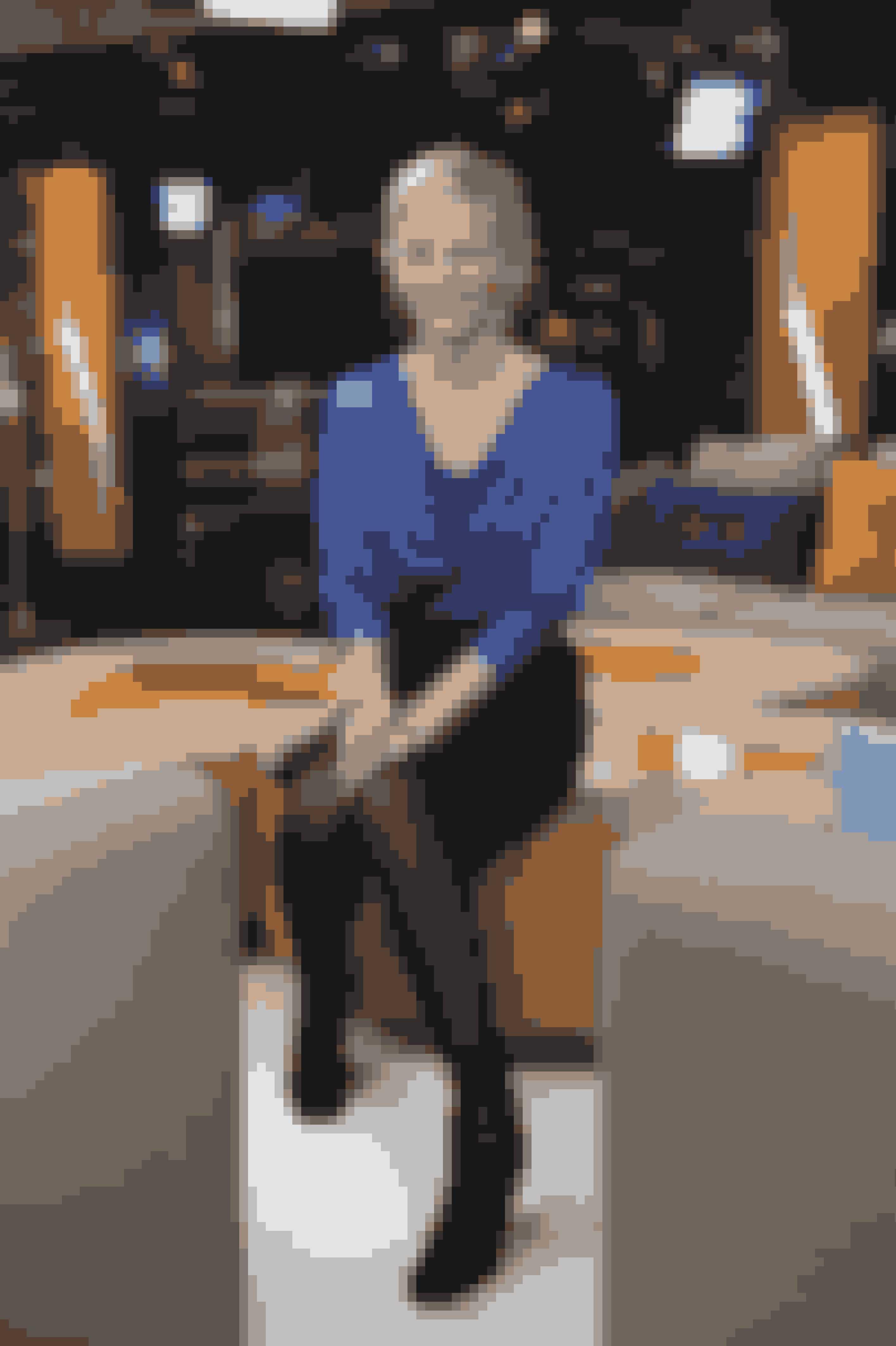 Tv-vært Louise Wolff  tilbage i 2010, da Aftenshowet fik nyt studie og nye værter.