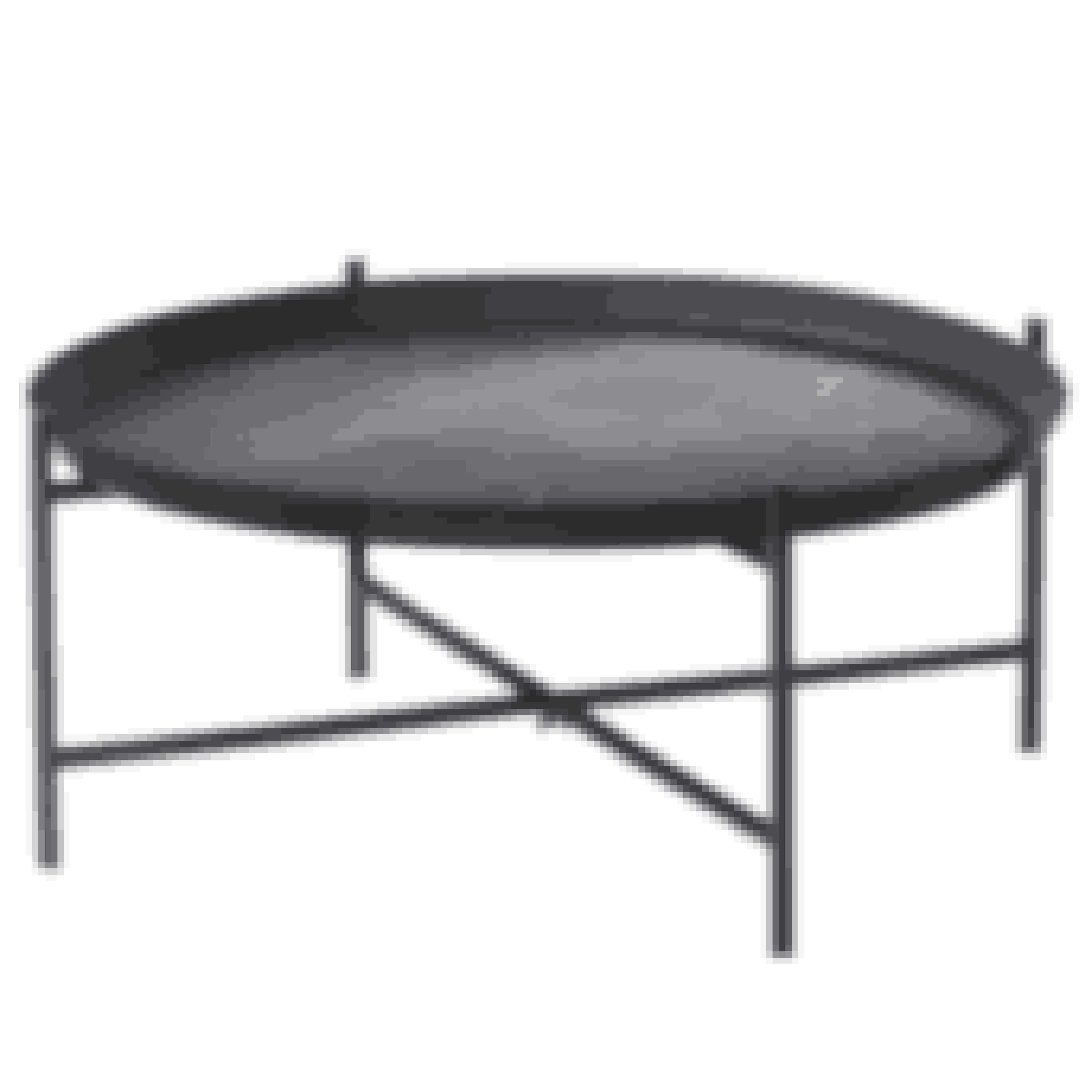 Sofabord, Svärtan, h 30 cm, diam. 73 cm, 699 kr. Ikea.com