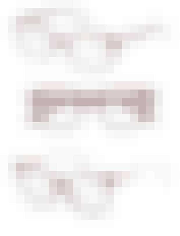 Røde briller, 3.295 kr. Ørgreen. Røde briller, 1.495 kr. Kylie Minogue fra Louis Nielsen. Flerfarvede briller, 1.998 kr. Marc Jacobs fra Synoptik.