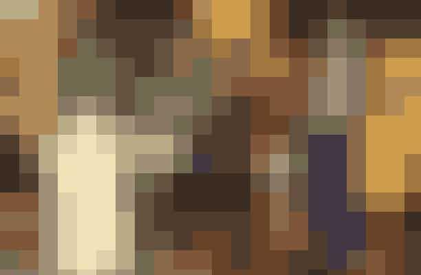 Beate Bille sammensatte sine favoritoutfits fra BOSS, og her ses to skønne sæt, som begge bliver anvendelige til både fest og hverdag med den samme skindjakke, Beate havde på.