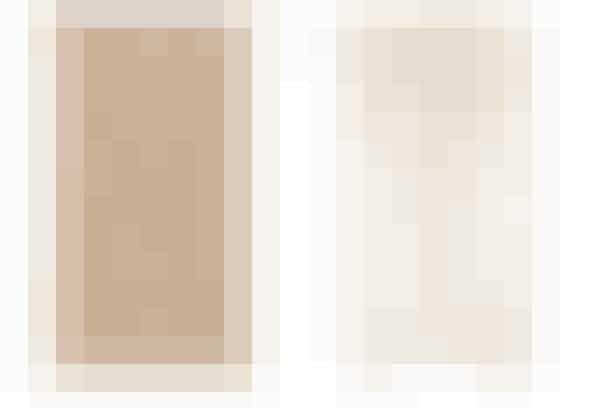 1. Klædeskab i sæbebehandlet askefiner med to døre, 3.499 kr. (Ilva)  2. Klædeskab i birkefiner, 9.000 kr. (House Doctor)