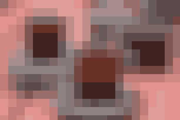 Det brune, robustestel fraArabia Ruschka oser virkelig af 70\'er