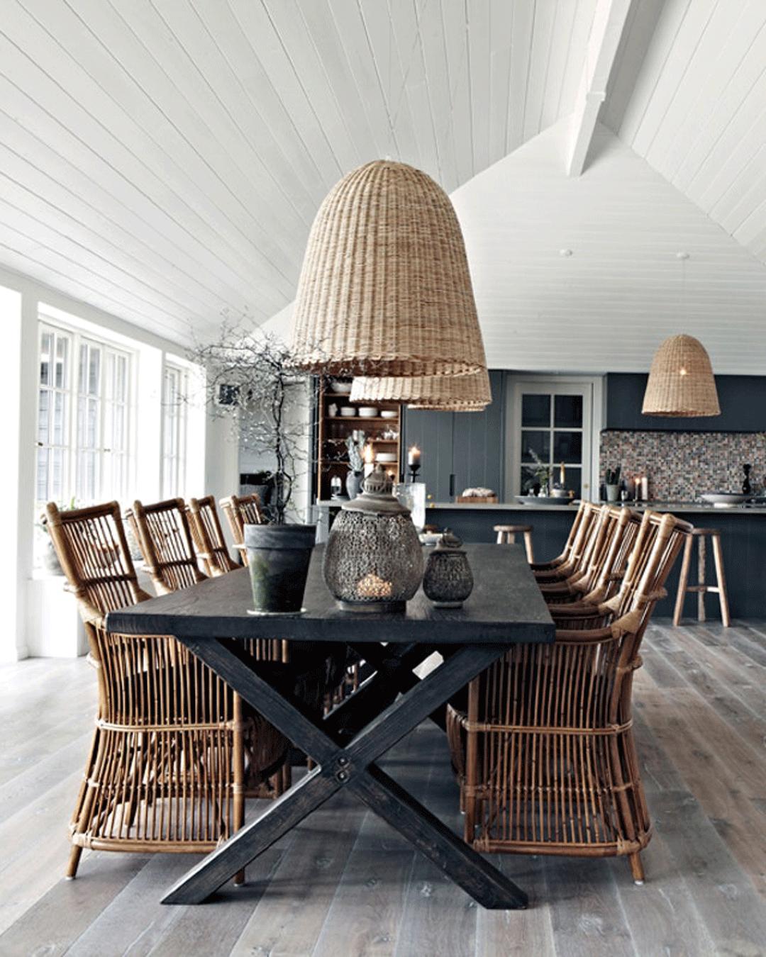 35 lamper over dit spisebord i spisestuen   Mad & Bolig