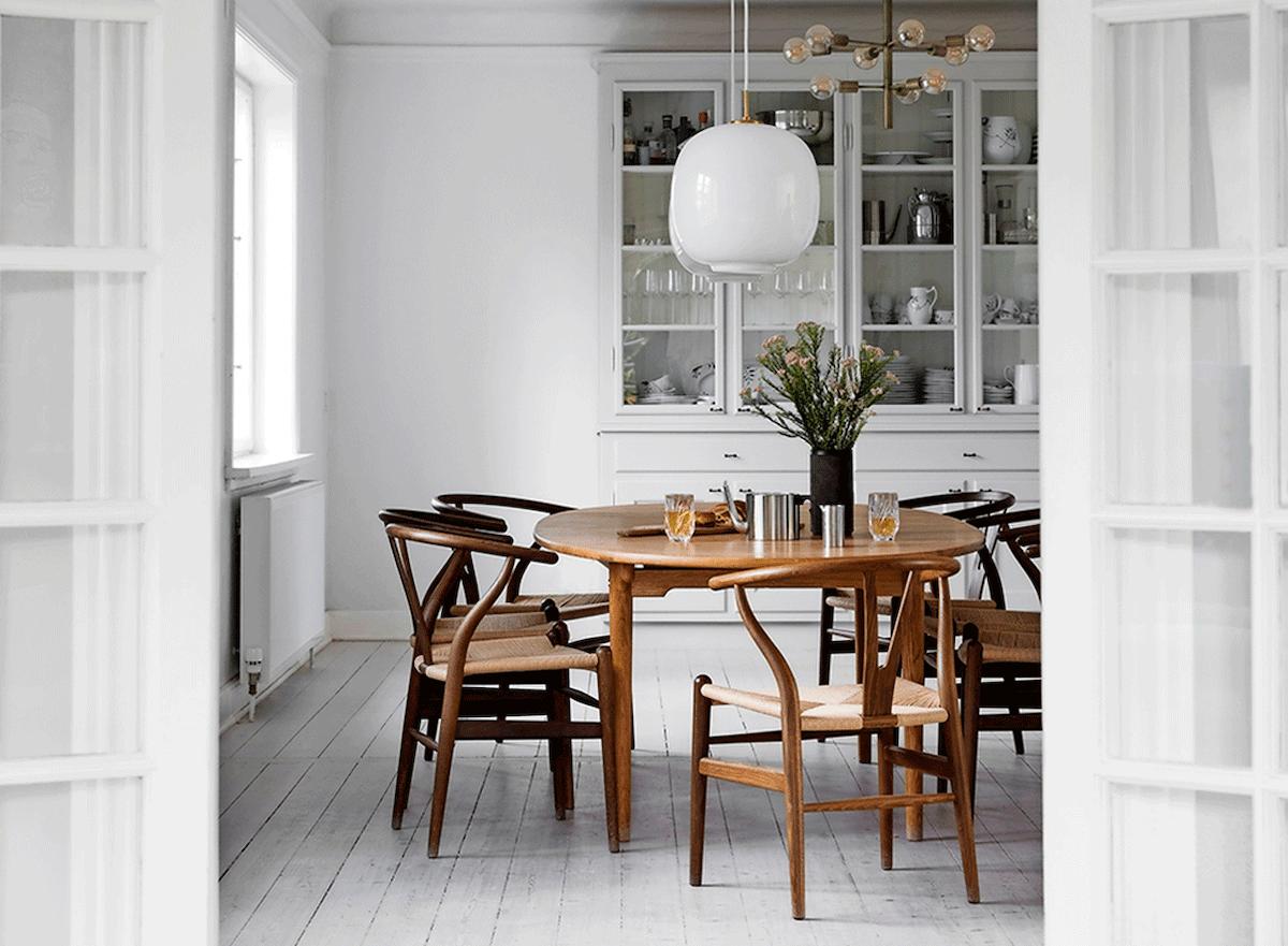 35 lamper over dit spisebord i spisestuen | Mad & Bolig