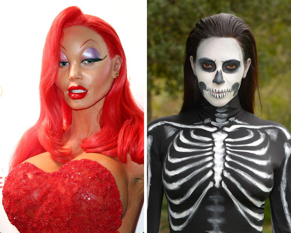De kendtes Halloween beauty looks | IN