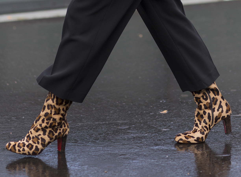 blødgøring af læder sko