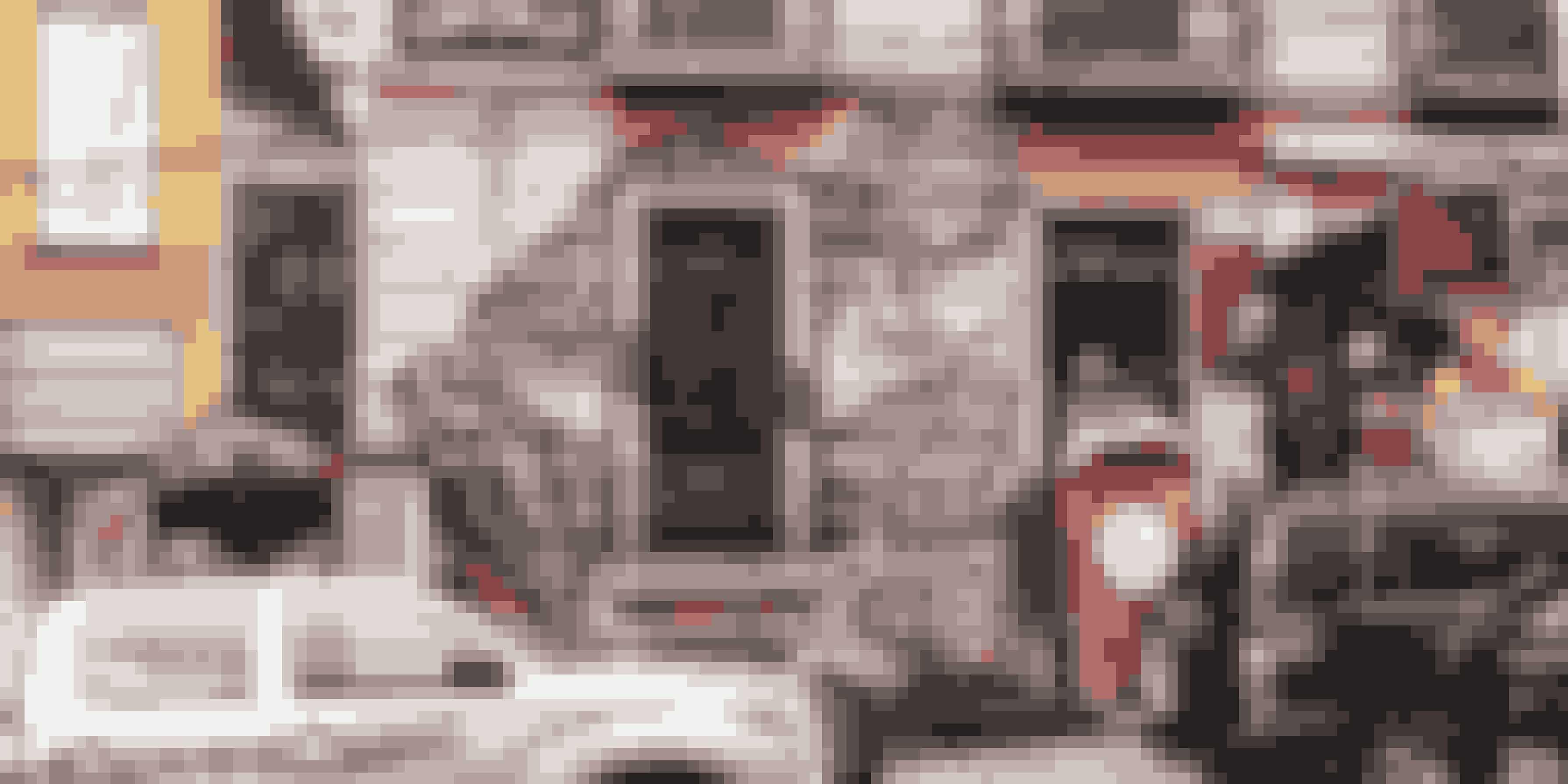 I byens bohemekvarter, Sopocachi, er mange huse kulørte og dekoreret med malerier.