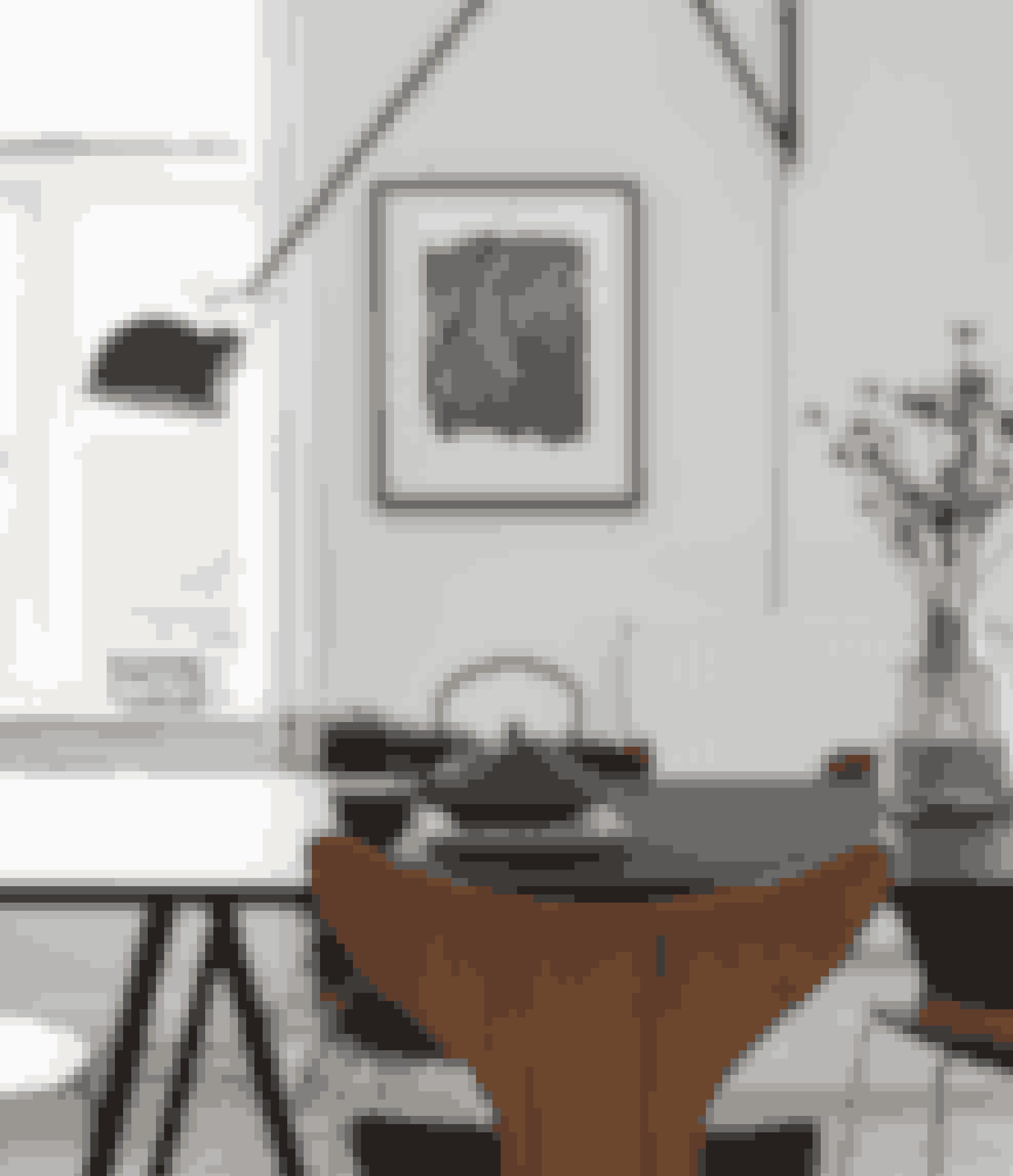Her bor:En 42-årig arkitekt og bygherrerådgiver.Bolig:Andelslejlighed på 106 m² i ejendom fra 1898 på Frederiksberg.Stil:Afdæmpet 60'er-stil.