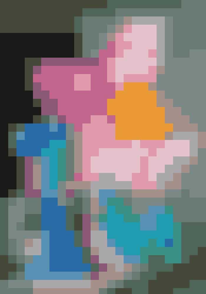 'Colouring Book' – et værk af Jeff Koons – pryder Faena-hotellets facade.