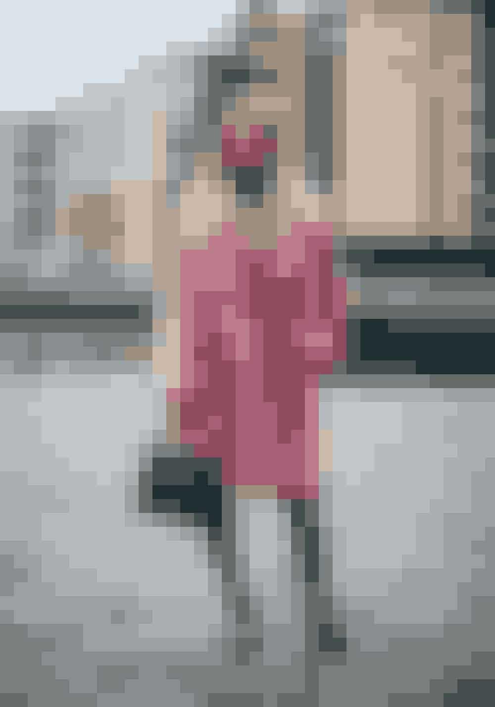 Sandra Hagelstam, content creatorInsatgram: @5inchandupJakke fra ONAR Studios, taske fra Celine, sko Celine