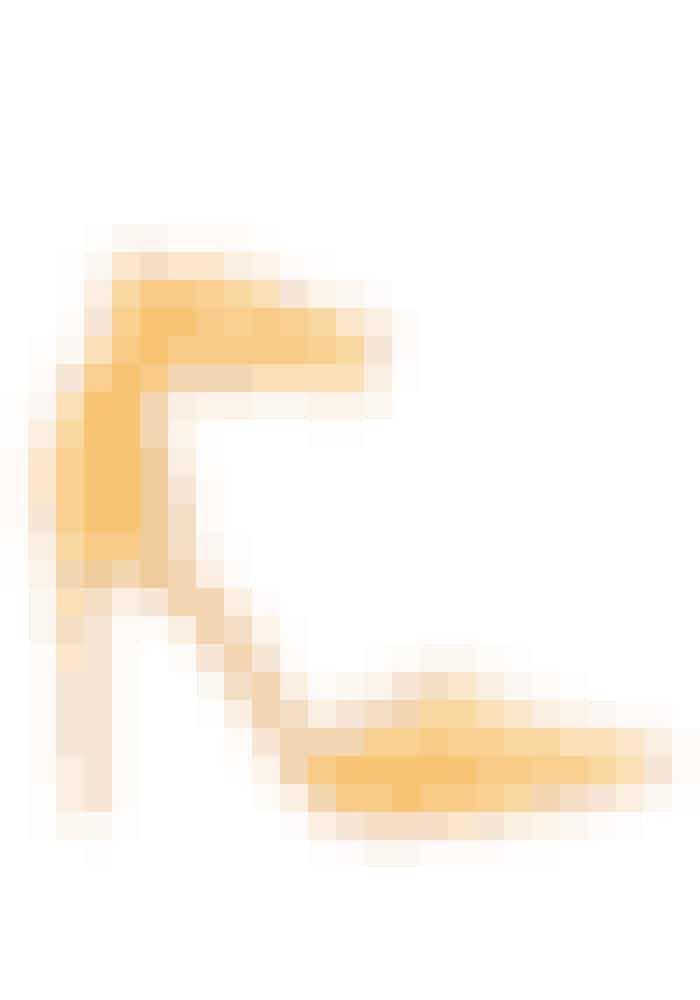 Topshop, 'Grace' højhælede pumps i gul, 499 kr.Kan købes online HER