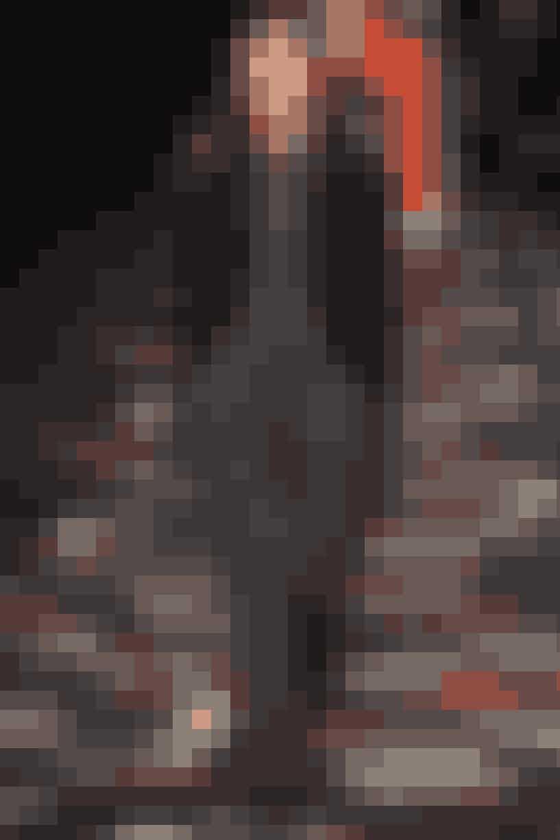 Supermodel Caroline Brasch Nielsen hos det nye danske, herrebrand Tonsure, der åbnede Copenhagen Fashion Week.LÆS OGSÅ: Moderedaktørens drømmekøb   Taske fra By Malene Birger