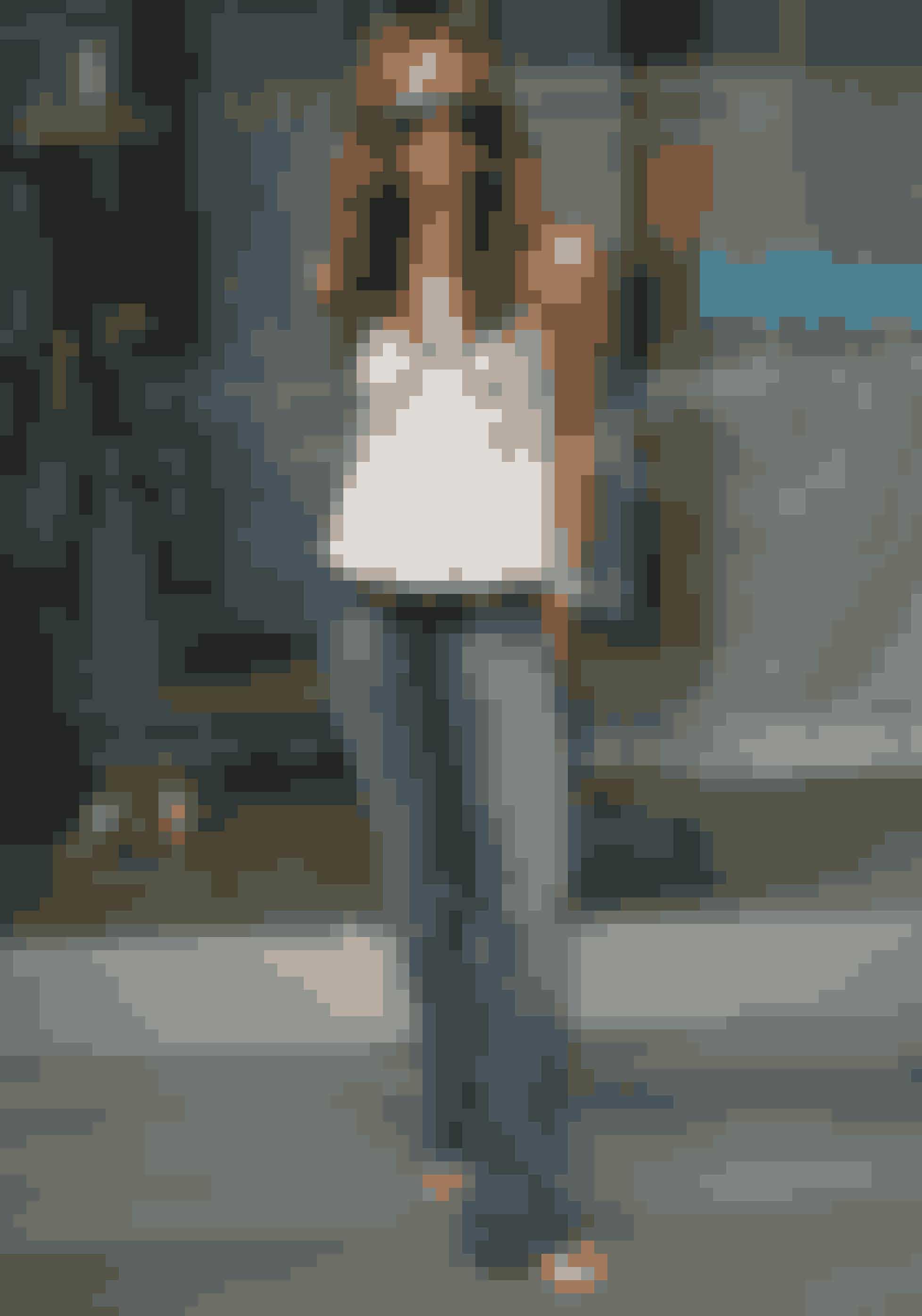 Til mode-event i Los Angels i 2005.